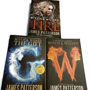 James Patterson's Witch & Wizard Books 1-3.